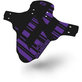 """UNLEAZHED Unsplash M01 Front Mudguard 26-29"""" incl. 4 Cable Ties purple"""